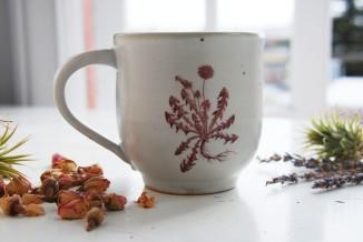 dandelion mug!